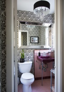 LOvin' these gorgeous powder rooms.......